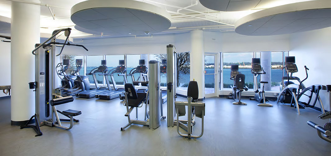 Canal Center exercise room