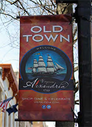 Old Town Alexandria sign